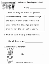 Kindergarten Reading Printable Worksheets – Lejardindutempscom