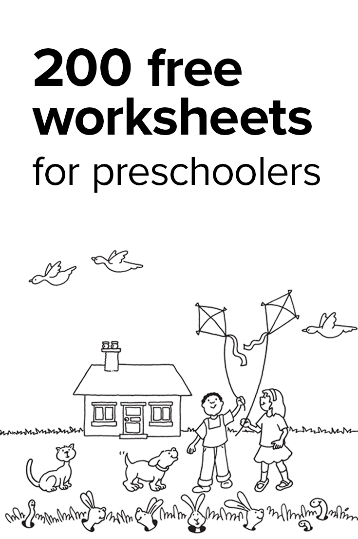 Kindergarten Math Worksheets: And 3 More Makes | Free