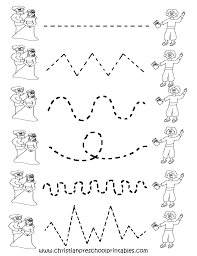 Free Printable Tracing Worksheets For Preschool