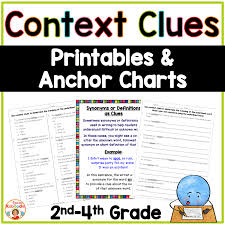 Context Clues Worksheets For 2nd, 3rd, And 4th Grade