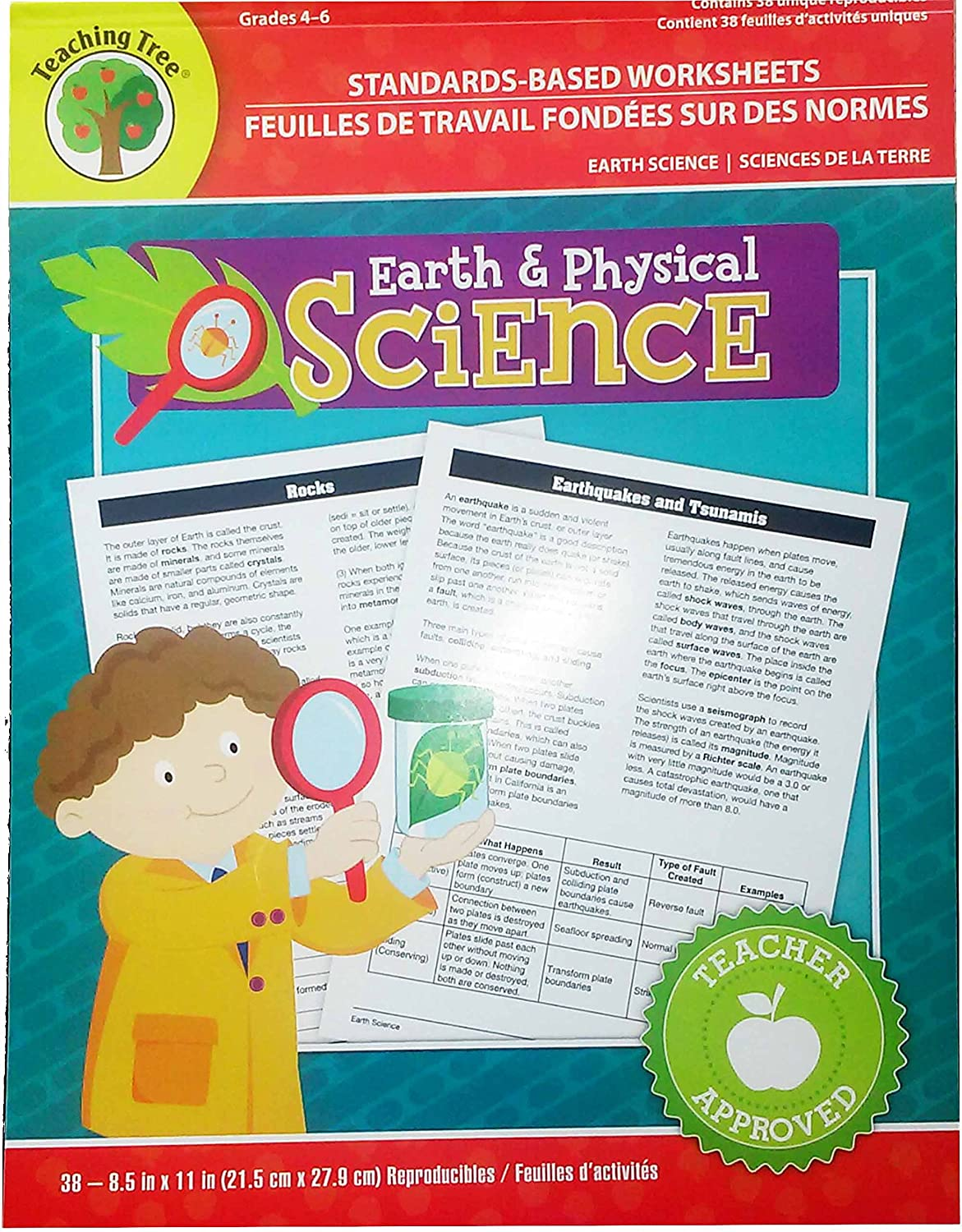 Standards-based Worksheets Grades 4-6 (earth & Physical Science)