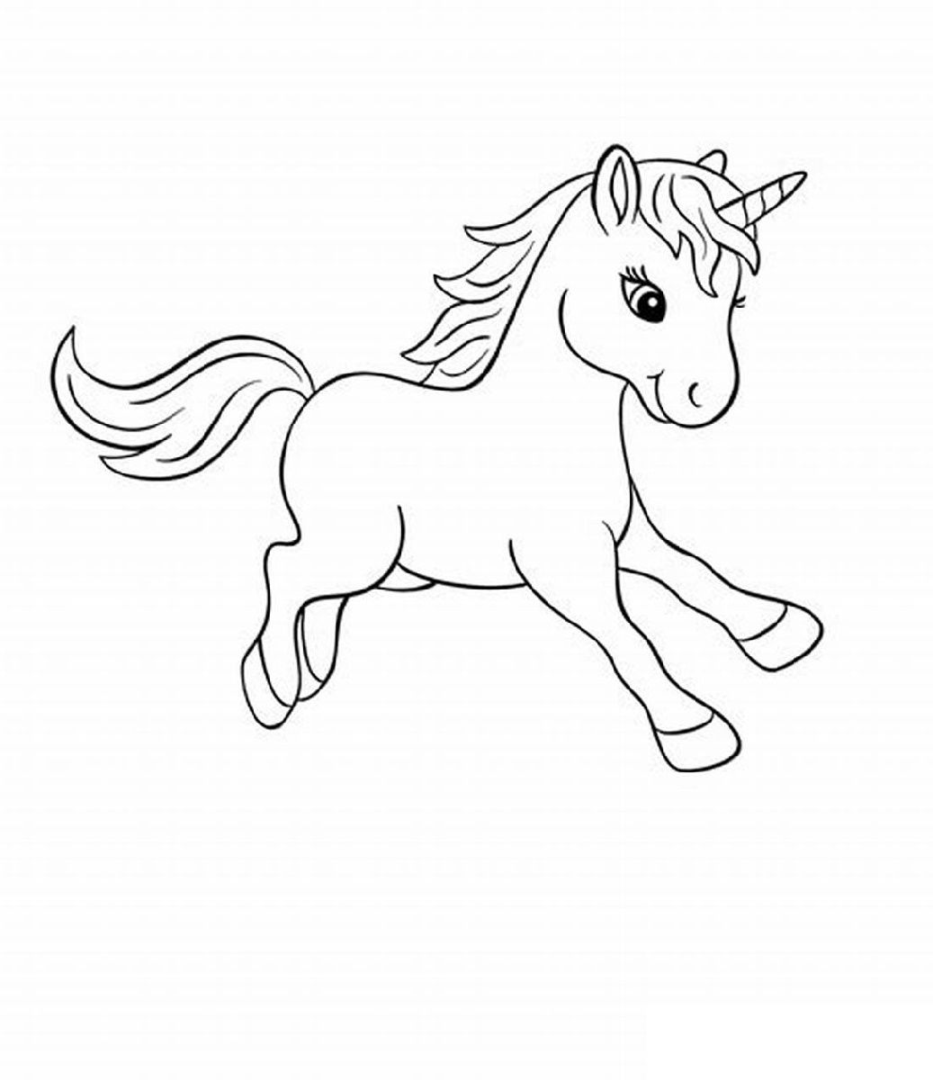 Printable Baby Unicorn Coloring Pages K5 Worksheets On Worksheets Ideas 6061